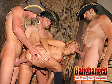 Trina Michaels Gets Gang Banged